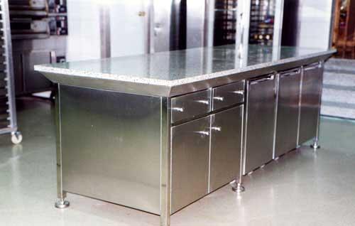 Mesa Acero Inoxidable Para Cocina - Arquitectura Del Hogar - Serart.net